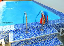 Домик с бассейном в Феодосии на лето в Крыму (3)
