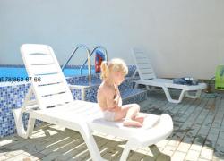 Домик с бассейном в Феодосии на лето в Крыму (6)