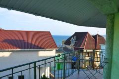Однокомнатный Эллинги на берегу моря в Феодосии 2 береговая линия Оранжевый  Фото № (4)