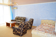 Эллинг в Феодосии на берегу моря 2 этаж  трёхкомнатный коттедж. Фото. (6)