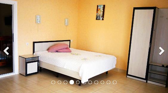 Эллинги Орджоникидзе Хелинг Двухкомнатный 2 этаж фото комнаты на сторону гор двухспалная — копия