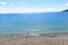 Эллинги Орджоникидзе с видом на море эконом на 4 человека с панорамным балкончиком. (15)