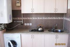 Аренда двухкомнатной квартиры в Феодосии Кампари. Фото кухни