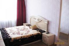 Аренда двухкомнатной квартиры в Феодосии Кампари. Фото спальня