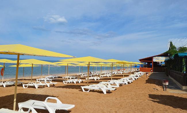 Песчаные Пляжи Феодосии Баунти и Жемчужный