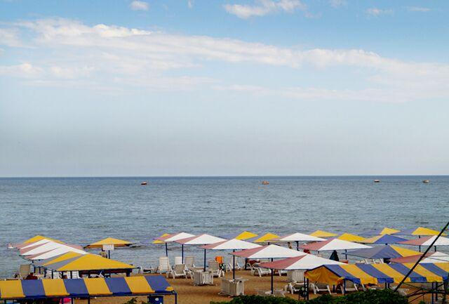 Песчаные пляжи Феодосии