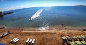 Эллинги на берегу моря в Феодосии свой песчаный пляж. Цены.Фото.Видео.